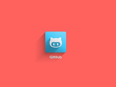 GitHub's Octocat github octocat illustration icon iconography shadow logo