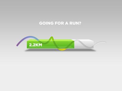 Run Progress Bar Concept