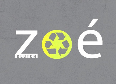 Zoe Klutch Brand Logo logo brand recycled material