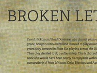Broken Letters website
