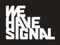 new logo for We Have Signal