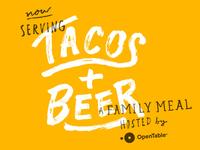 Tacos + Beer