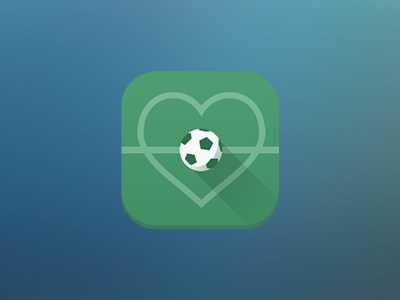 Serie A app icon design app icon design flat soccer ios android mobile