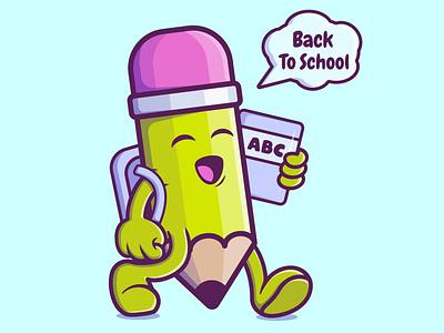 Back to School motion graphics 3d ux ui branding vector illustration graphic design design animation logo