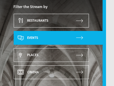 Filters filters geomicons source sans pro blue gradient icons stream
