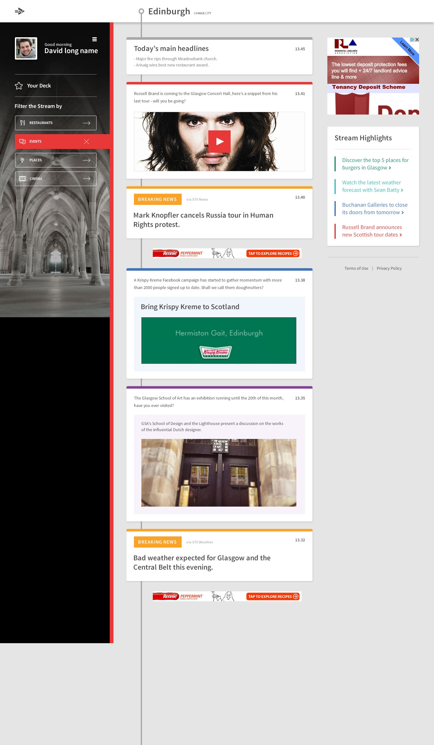 New desktop v2 logged in filtered
