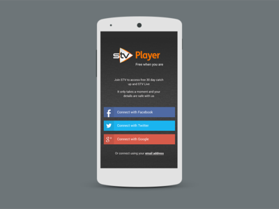 New Player App landing page
