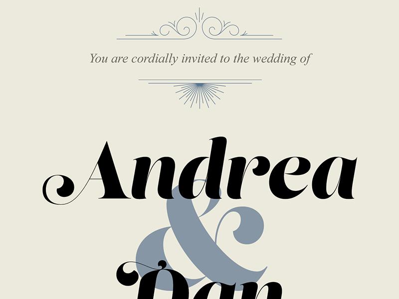 Wedding Invite WIP wedding invitation lust display times new roman swashes