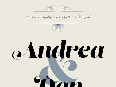 Wedding Invite WIP wedding invitation lust display times new roman swashes