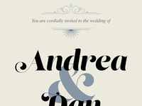 Wedding Invite WIP