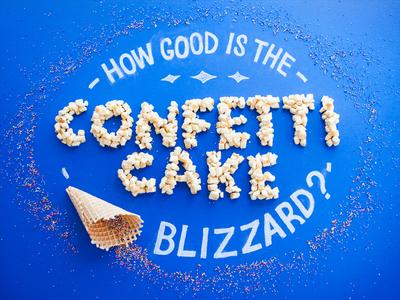 Fan Food Type - Confetti Cake