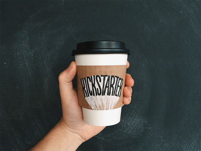 Kickstarter surfacetype goodtype typography type paint kickstarter hand lettering lettering coffee