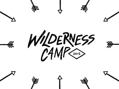 Wilderness Camp 101 pattern arrow wild wilderness camp tmoneydesign typography type letter lettering