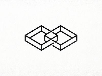 Surface Restoration: Box² diamond mark square box tmoneydesign graphic design 3d minimal logo