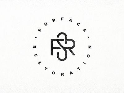 Surface Restoration: Mark_2 r s restoration surface mark circle round tmoneydesign graphic design monogram minimal logo