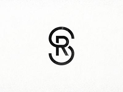 Surface Restoration: Final monogram surface tmoneydesign simple mono minimal mark graphic design r s logo