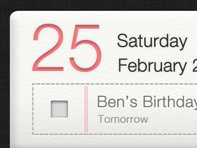 Siri Reminder Freebie PSD checklist date mock up free psd freebie siri reminder calender free to use download design ui calendar fabian