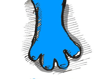 Flubo Sketch - Hand