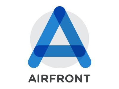 Airfront Logo  logo new shapes