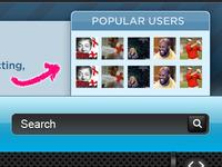 Popular Users Pane