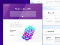 Intelligent CX Landing Page