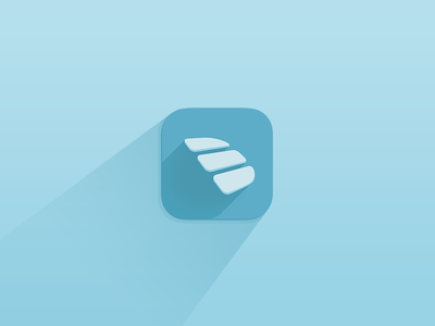 Dashbook new icon icon flat ui shades soft shadow ios app minimal mobile iphone appstore logo