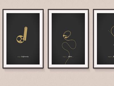 design is __________ . design poster minimal frame