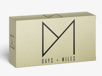 Days and Miles Logo Design