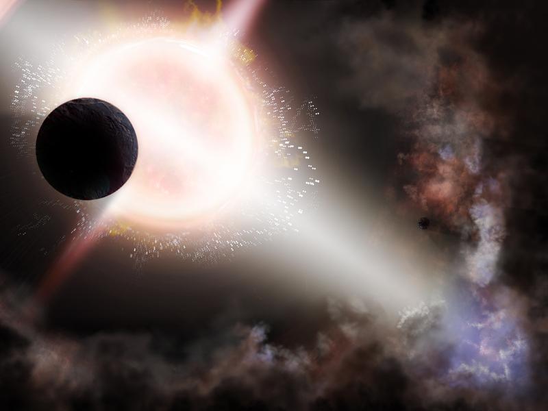 Supernova digital artwork digital painting explosion supernova stars science space