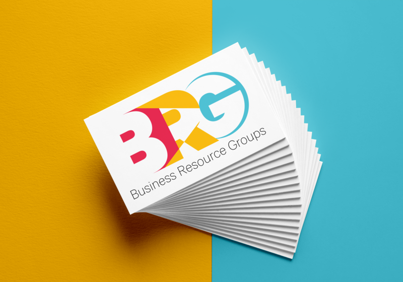 Business Resource Groups Logo corporate branding business card illustrator design identity logo