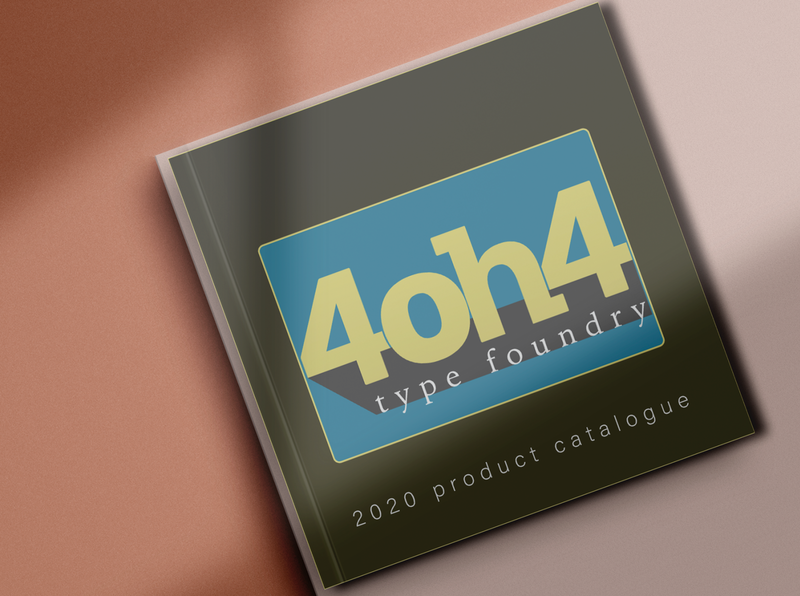 404 Type Foundry Logo font type design typography cover design cover art book photoshop illustrator brand identity logo