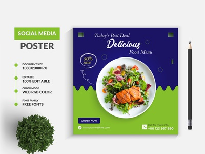 Special Food Social Media Post Banner Design Template delicious burger fast food ad restaurants italian food chinese food food social media post food web banner food menu design food flyer design food billboard design food facebook cover design food banner food logo illustration social media banner design instagram post branding banner design banner ads graphic design