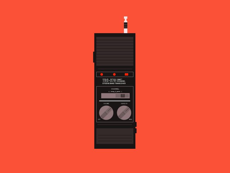 Stranger things walkie talkie