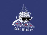 Pizza + Pineapple = Pleasure