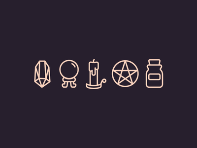 Witch Icons