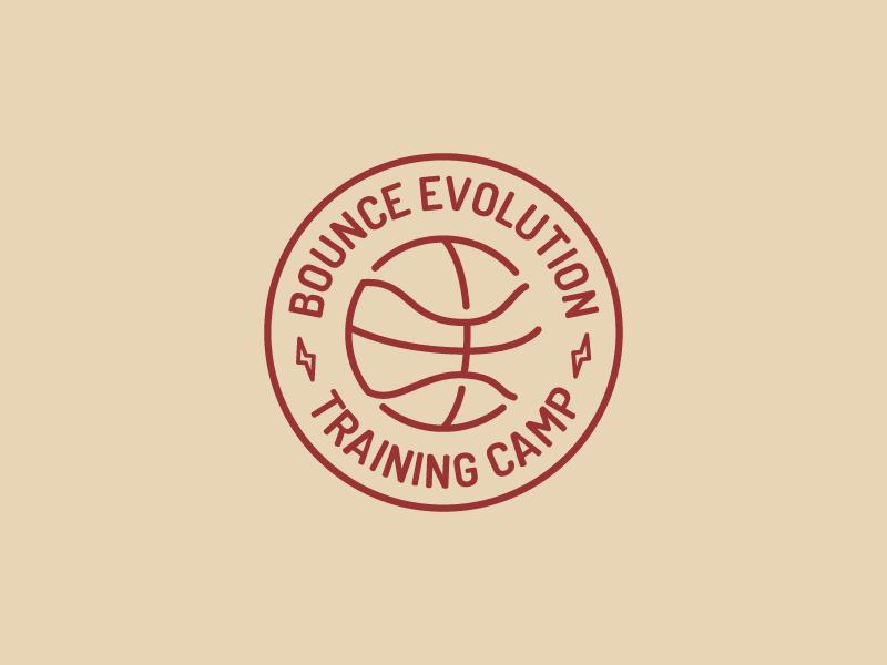 Training Camp Logo athletic training sports basketball mark logo