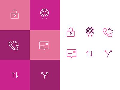 network icons ui icon set iconography