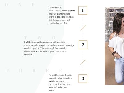 Brick&Batten - Exterior Design services site web design website