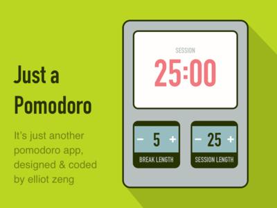 A Pomodoro App
