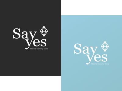 SayYes Jewelry Store Logo