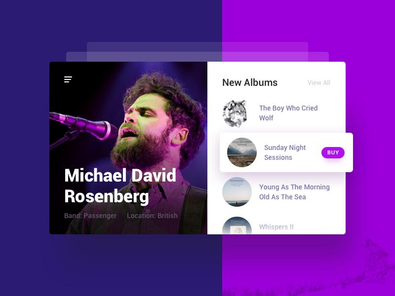 06 Musician Profile music album user profile