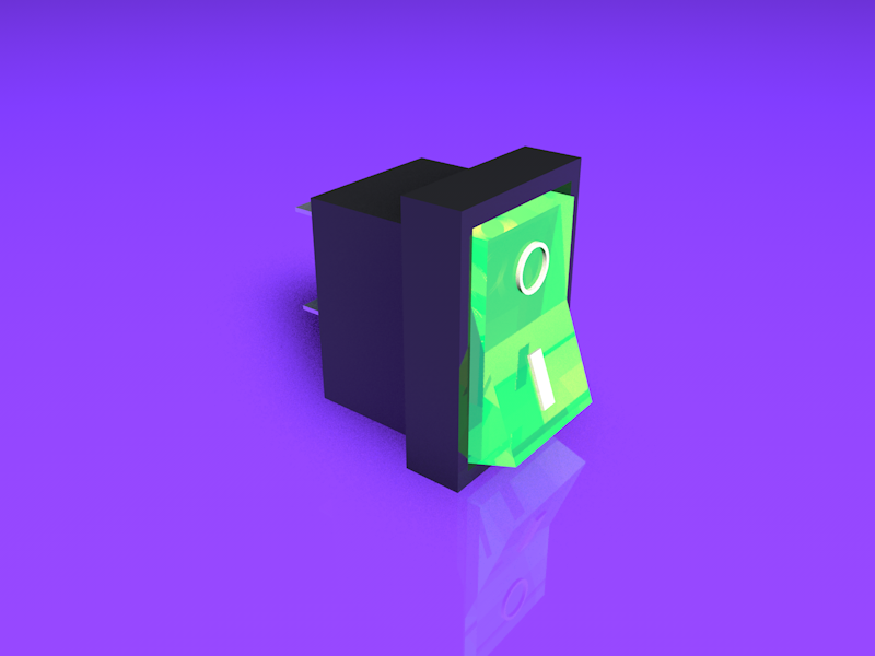 15 On/Off switch c4d off on switch