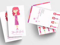 You Glo Girl - cards
