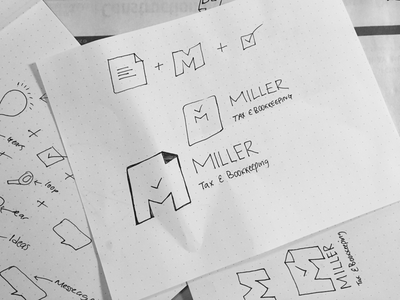 Miller Tax & Bookkeeping accounting tax logo