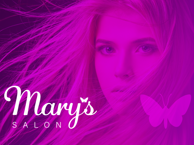 Mary's Salon ad salon beauty