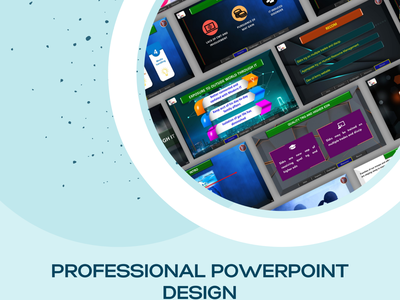 Amazing PowerPoint Presentation logo design illustration powerpoint presentation powerpoint pitch deck picth deck for start up branding google slides