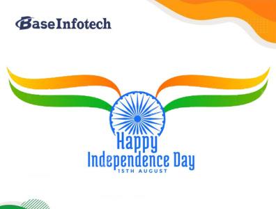 Happy Independence Day. india assam guwahati ranchi bihar infotech base baseinfotech indiaindependenceday freedom azadikaamritmahotsav 75independenceday independenceday