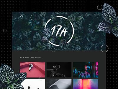 17A - Portfolio Wordpress Theme *free minimal black web theme wordpress work ceative clean dark portfolio free freebie