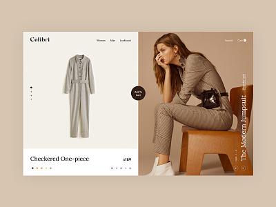 Lookbook Concept modern design fashion light shop web minimal ecommerce clean lookbook