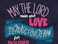 """Make Your Love Increase"""